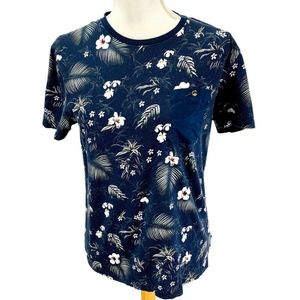 Ted Baker London Pocket Tee Shirt Floral Size 3/M